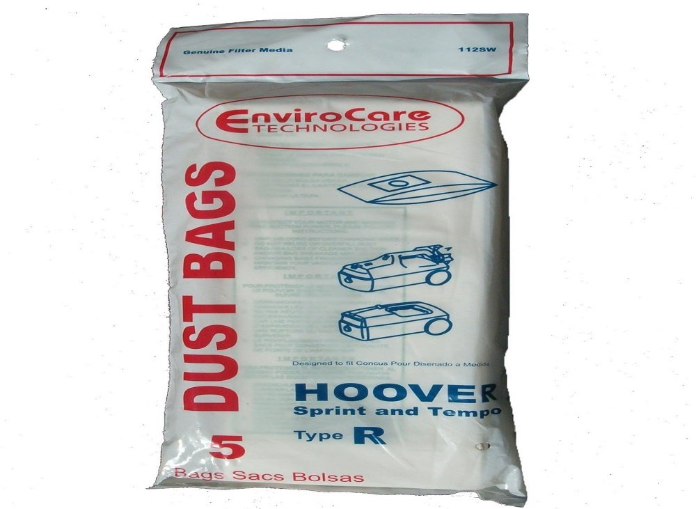 Hoover Type R Canister Sprint Vacuum Paper Bags 5