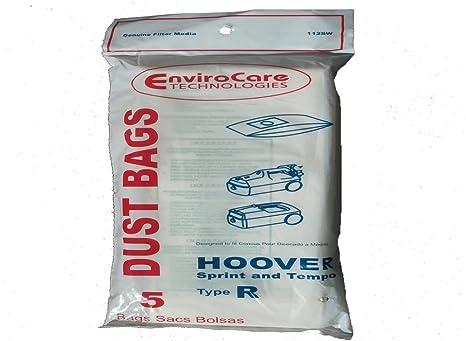 Amazon.com: Hoover tipo R Canister Sprint aspiradora bolsas ...