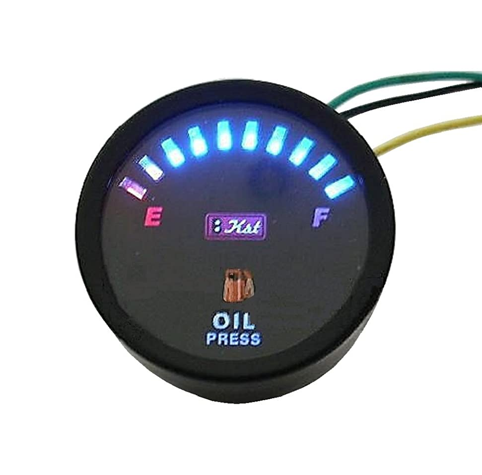 カウボーイマニュアル訴えるライズコーポレーション バイク用タコメーター LEDバックライト機能付 12000RPM 電気式 60パイ ブラック T07Z9990001BK