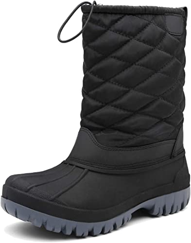plunger Boys Girls Outdoor Waterproof Cold Weather Snow Boots Toddler//Little Kid//Big Kid