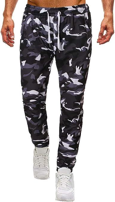 pantalones de chandal camuflaje hombre