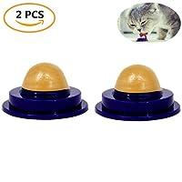 RUIBUY Cat Treat Ball Sugar Ball Cat Snacks Licking Sugar Solid Nutrition Gel Energy Ball Cat Treat,2 PCS
