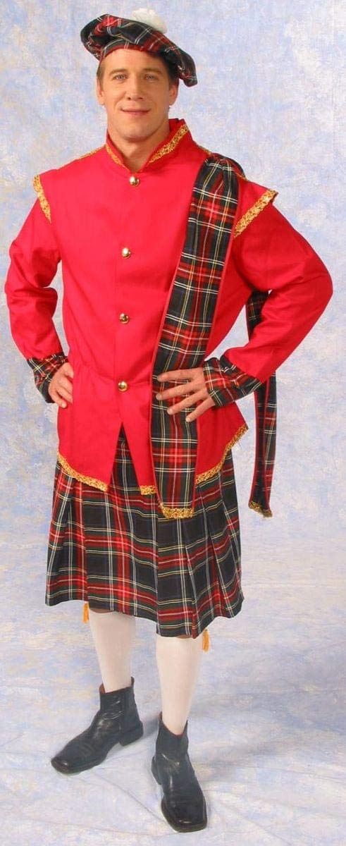 Small Scottish Lad Kilt Jacket Costume Adult Small