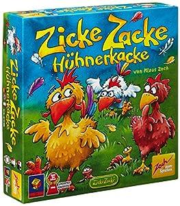 Zoch 601121800 - Zicke Zacke Hühnerkacke Kinderspiel
