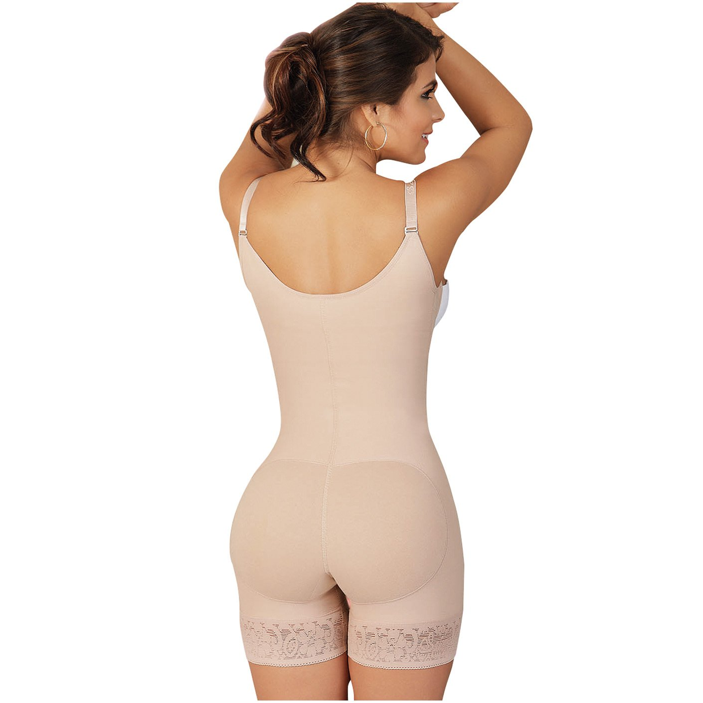 Fajas Salome Womens 0216 Body Shaper Girdle Gluteus Enhancer at Amazon Womens Clothing store: