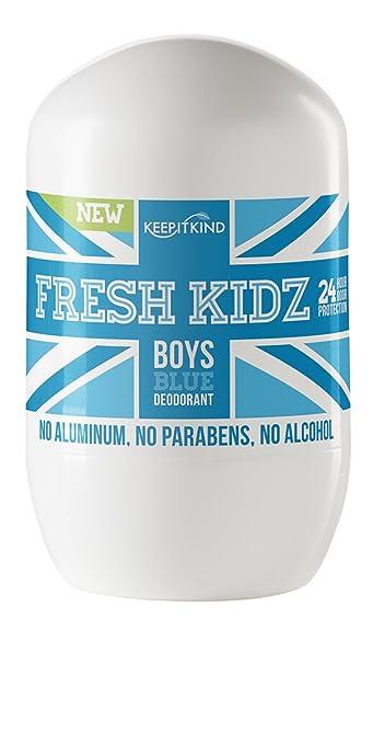 Keep It Kind Fresh Kidz Boys Natural Deodorant, 1.86 Fluid Ounce