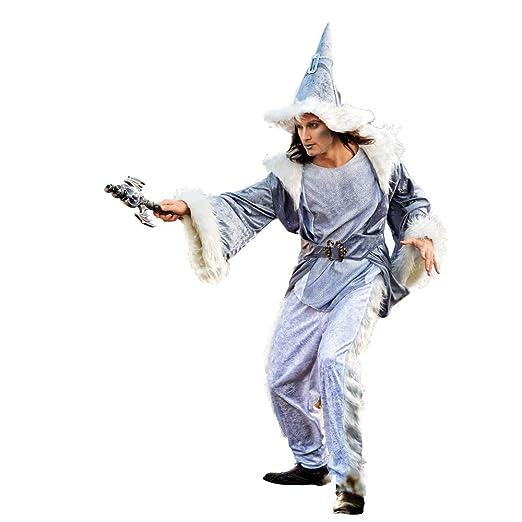 Limit Sport - Disfraz de brujo mago Adalgis, para adultos, talla M ...