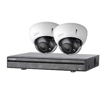 Dahua - kitevo 2 Dom 720P - Kit de videovigilancia Grabador + 2 Cámaras Domo - 720p: Amazon.es: Bricolaje y herramientas