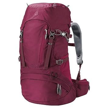 gut aussehen Schuhe verkaufen Release-Info zu Entdecken Jack Wolfskin ACS Hike 30 Women Pack Rucksack, Dark Ruby ...