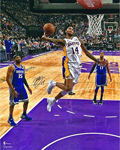 Brandon Ingram Los Angeles Lakers Autographed 16