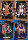 2017 2018 Donruss NBA Basketball Series Complete Mint 200 Card Set with Stars and Rookies Lebron James Stephen Curry Lonzo Ball Jayson Tatum and More