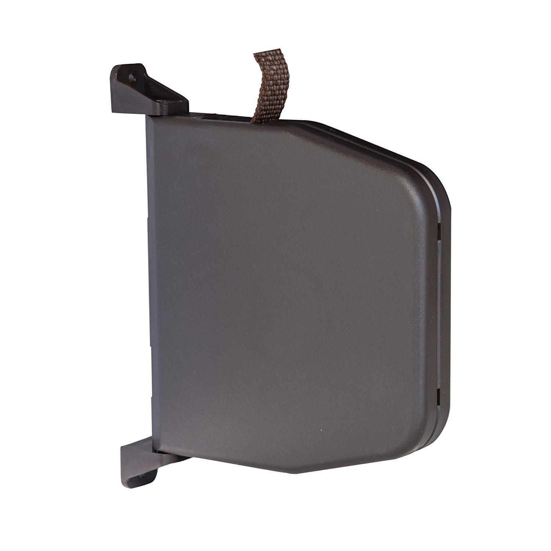 Recogedor Abatible de Persiana Con Cinta Enrollable Mini de 5 m y 14 mm de ancho Recogedor de Cinta Montado en Superficie con Sistema de Bisagra Bayram/®