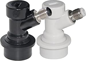 Beverage Factory BF BLSET-BECKERBARB MFL Gas&Liquid beer keg Quick Disconnects Set ball lock