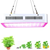 Supmovo LED Grow Light, 600W Plant LED Grow Light Kit, Hydroponic Grow Light, Indoor Plant Grow Light Panel, Full Spectrum with UV IR for Green House Veg, Flower and indoor plant