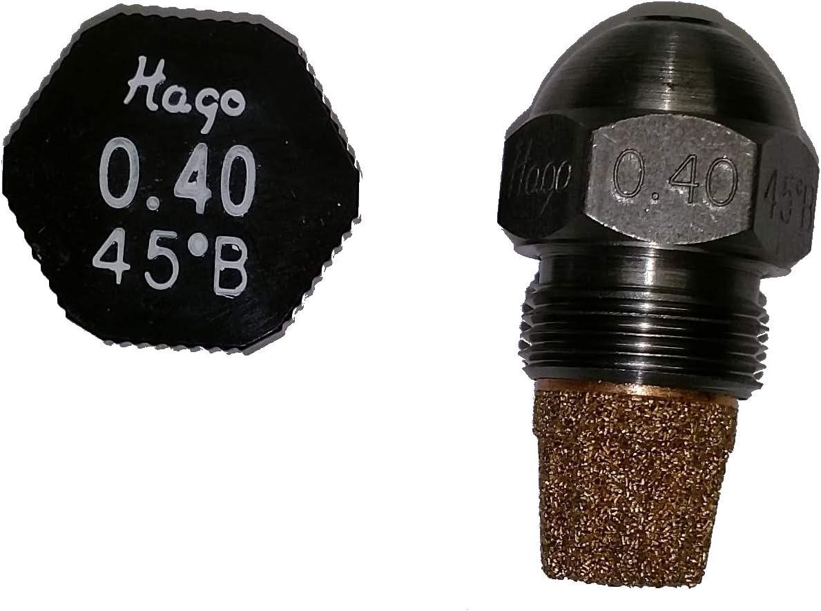 45 Grad B Vollkegel Hago D/üse 0.40 gph
