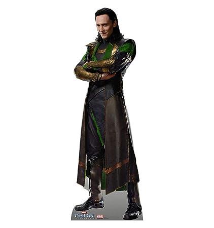 AG1629 Loki Thor 2 Avengers Cardboard Cutout: Amazon co uk: Kitchen