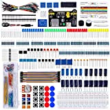 Emakefun Electronics Component Super Kit with Power Supply Module, Jumper Wire, 830 tie-points Breadboard, Precision Potentiometer ,Resistor for Arduino UNO, MEGA2560, Raspberry Pi