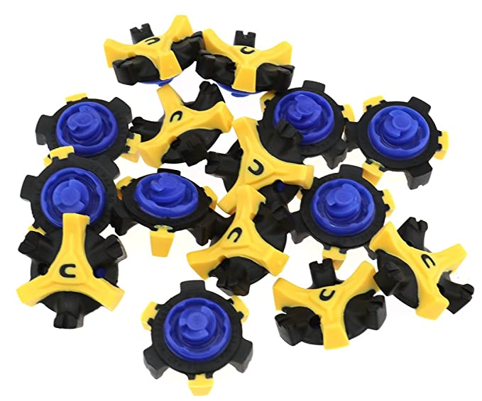 ad0508d838c 15X Golf Shoe Spikes Cleats Stud Tri-lok Fast Twist Well-replacement For  Footjoy  Amazon.co.uk  Clothing