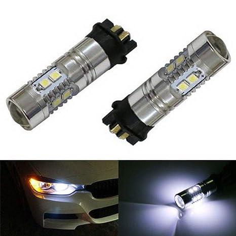 ijdmtoy (2) Xenon Blanco error free PW24 W repuesto de bombilla LED de bombillas