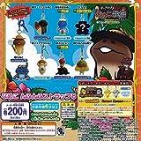 Touch Detective Nameko cultivation kit Nameko Nfunfu strap 8 Rare Secret containing all seven set Bandai Gachapon