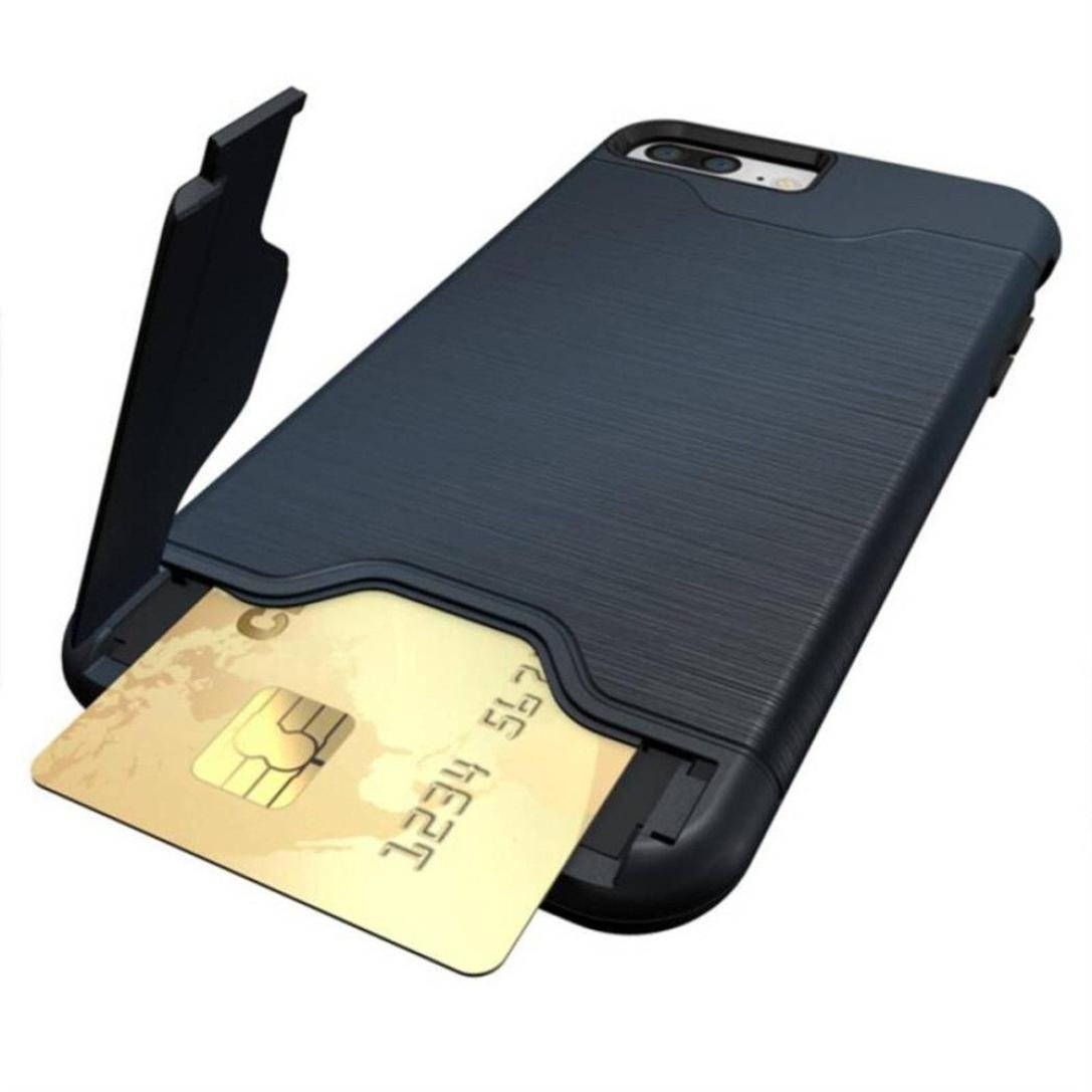 Amazon.com: Wallet Phone Case, Ultra-Slim Back Case Cover
