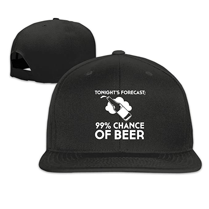 70e7f93e nordic runes Chance of Beer Logo Mens Baseball Cap Fitted Snapback Dad Hat  for Unsex Black