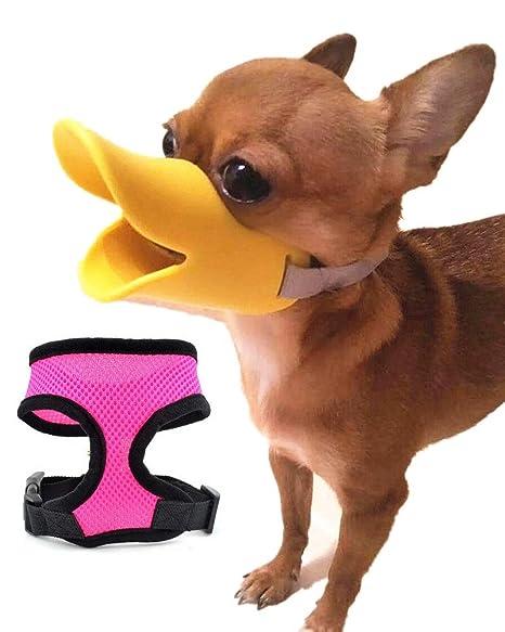 Prime Bozal de Pato de Silicona para Perros pequeños, tamaño S y ...
