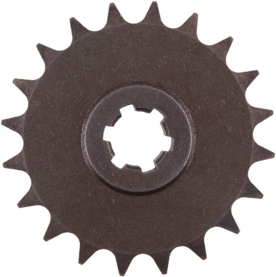 Flameer Gear Box 20 Teeth T8F Front Sprocket Pinion for 49CC 2-Stroke Engine ATV Quad Mini Dirt Pocket Bike