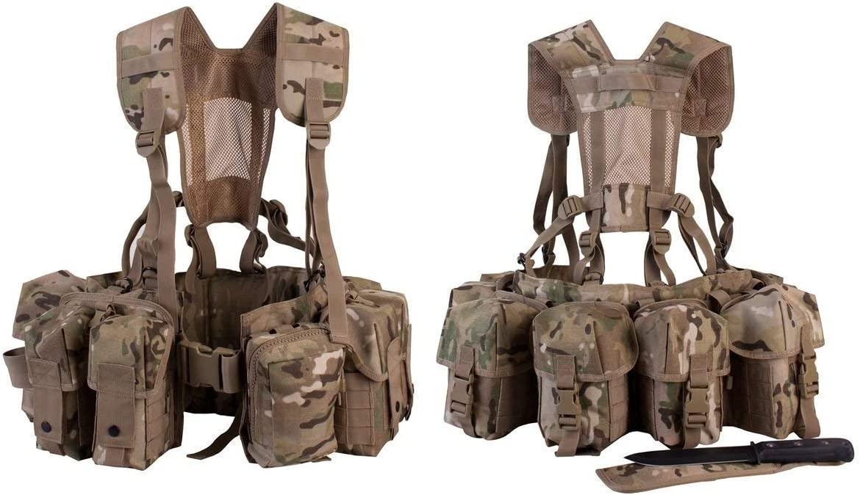 Arnés /Chaleco Militar Marca MTP - Apto para Paracaidismo ...