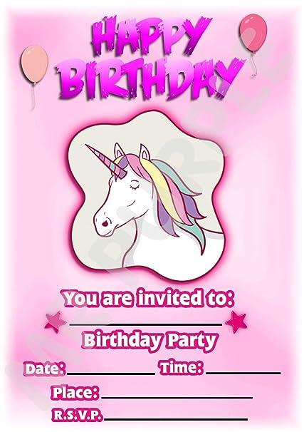 Invitaciones para fiestas de cumpleaños infantiles con ...