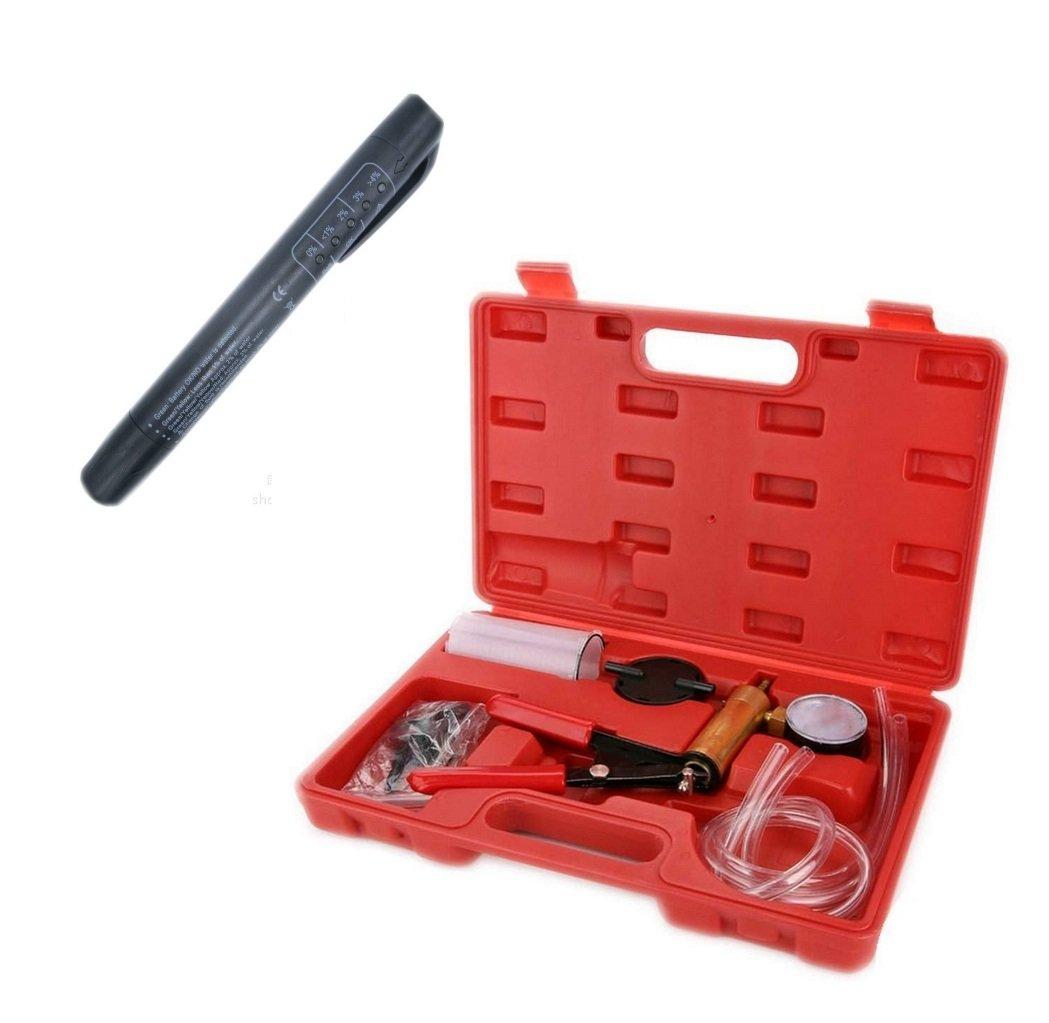 Sistema de frenos Líquido sangrado Kit de herramientas hidráulico del embrague herramienta de un hombre de aceite + freno aceite prueba Pen: Amazon.es: ...