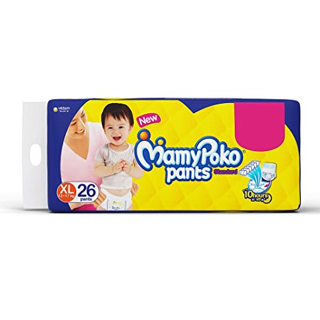 Buy Mamy Poko Pants Standard Pant Style Extra Large Diapers 26