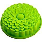 FantasyDay® Stampo in Silicone con 1 Cavità per Cubetti di Ghiaccio, Biscotti, Tortini, Cioccolato, Dolci - Fiore