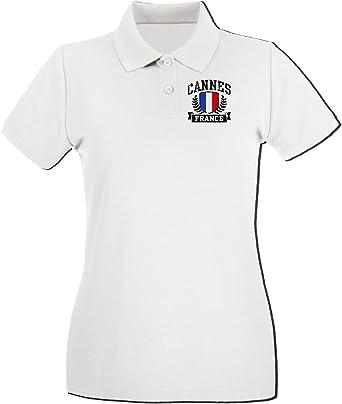 T-Shirtshock Polo pour Femme TSTEM0019 Cannes