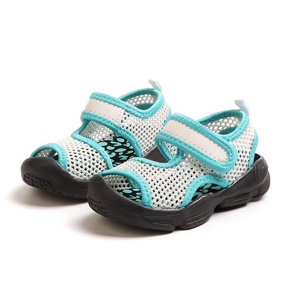 CYBLING Kids Water Sandals Breathable Mesh Athletic Beach Shoes for Boys Girls Toddler//Little Kid