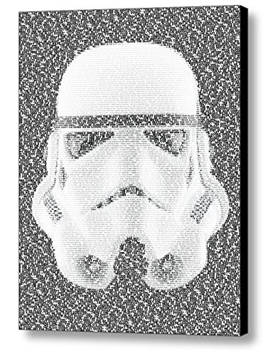 Star Wars Imperial Stormtrooper Quotes Mosaic Incredible Framed 9x11 Limited Edition Art Print W/coa