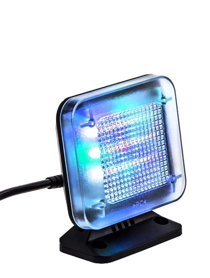 Kobert Goods –  Simulador de televisió n LED, mediante luz Simulació n para uso como protecció n antirrobos, Home Security, Televisió n de Reclamo/falsos de televisor, con 12 LED 's y 3 Wä hlba