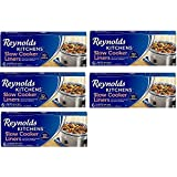 Reynolds Kitchens KklKvk Slow Cooker Liners, regular Size, 6 Count, 5 Pack