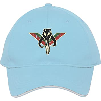 New Fashion Boba Fett Mandalorian Skull Baseball Cap Snapback Hats  Adjustable Hatlight Blue Cotton Male female Bessieflores  Amazon.co.uk   Books 1d58644c35a