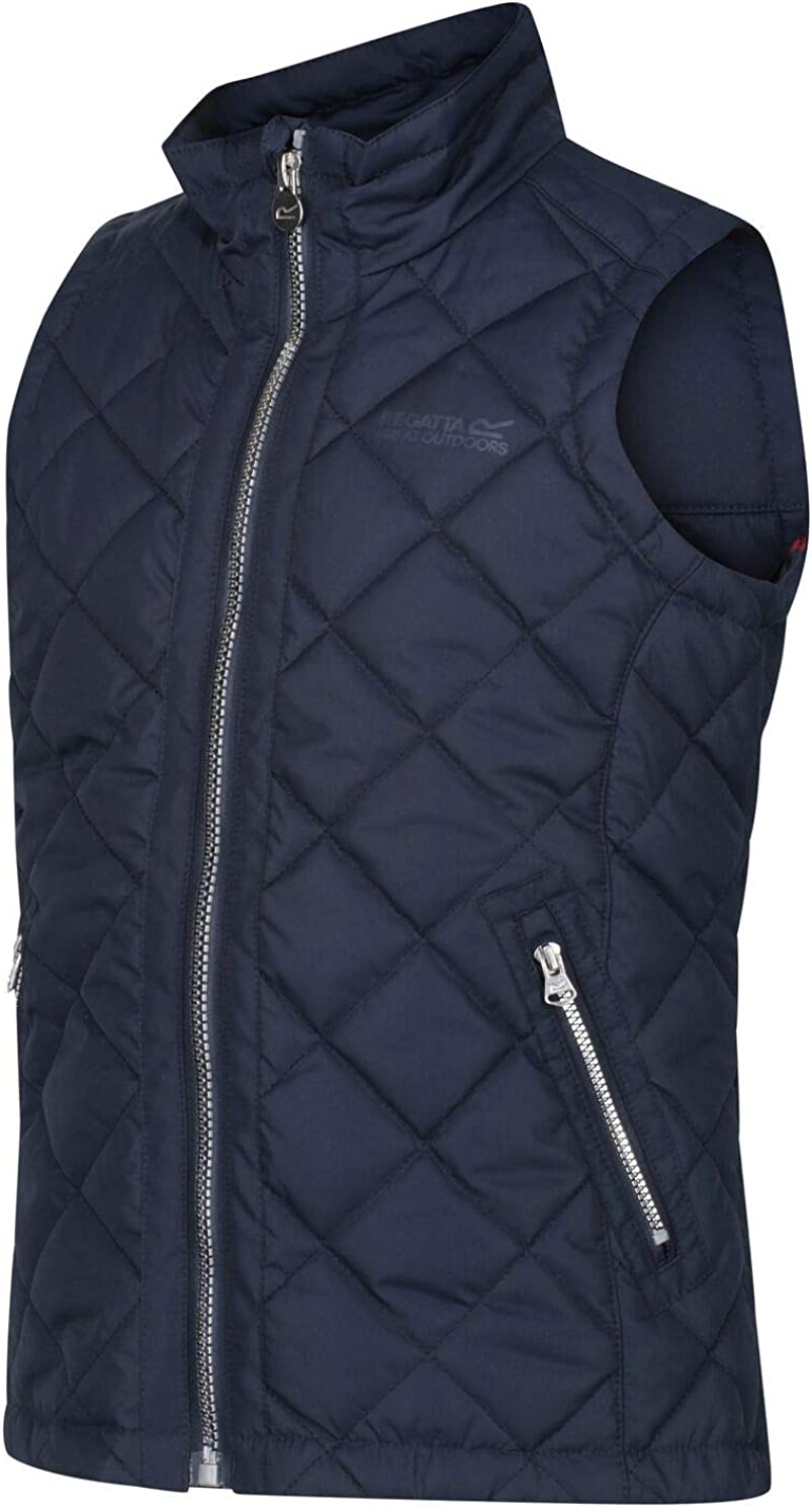 Regatta Childrens Zalenka Quilted Fully Lined Insulated Jacket With Back Vents Baffled