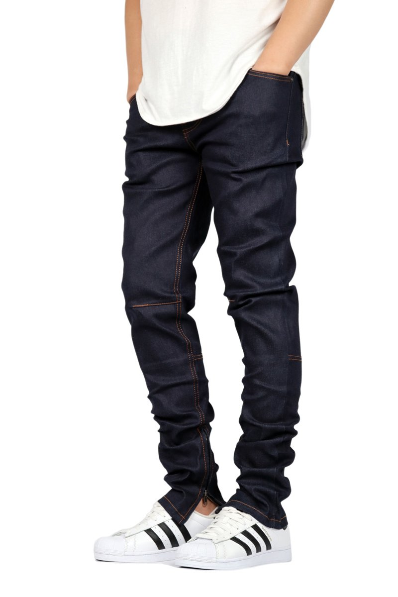 Mens Indigo Skinny Jeans