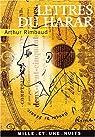 Lettres du Harare par Rimbaud