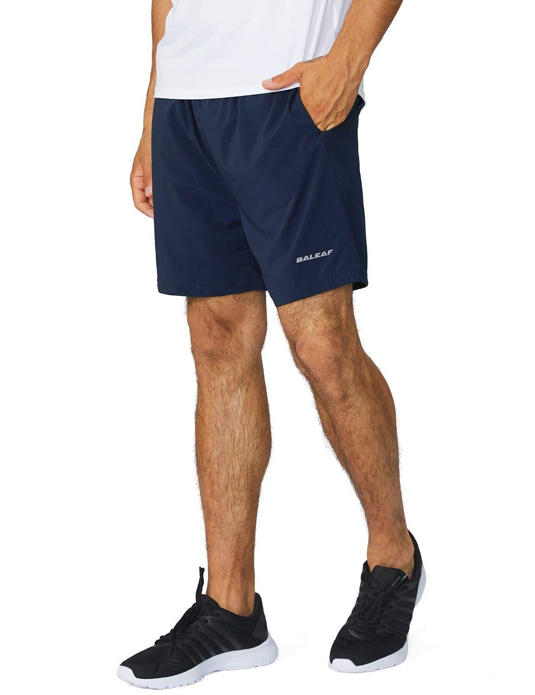 BALEAF Men's 5 Inches Running Athletic Shorts