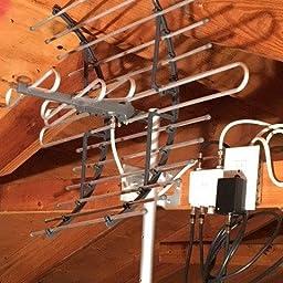 Amazon com: Customer reviews: GE Pro Attic Mount TV Antenna, Attic