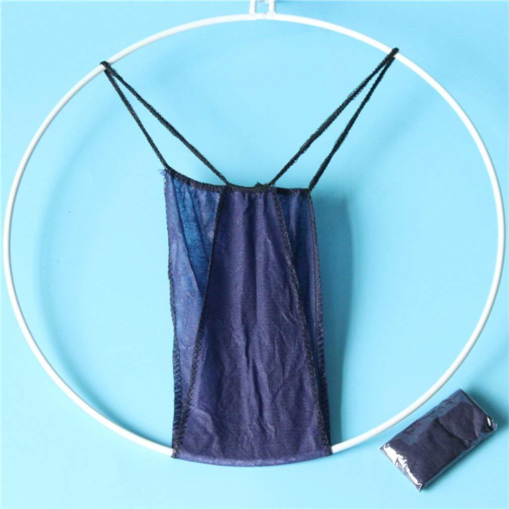 SEN Tangas Desechables no Tejidas Ropa Interior de Mujer Calzoncillos T Pantalones Belleza Sauna Azul