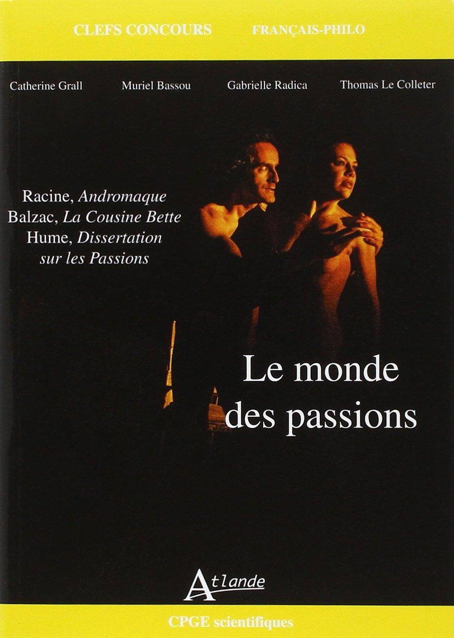 dissertation le monde des passions cpge