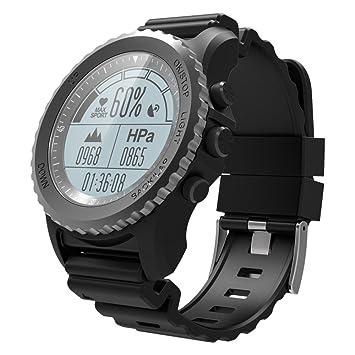 Lixada Fitness Tracker Smart Sport GPS Reloj Impermeable para Hombres y Mujeres que Ejecutan Natación Senderismo Ciclismo con Monitor de Frecuencia ...