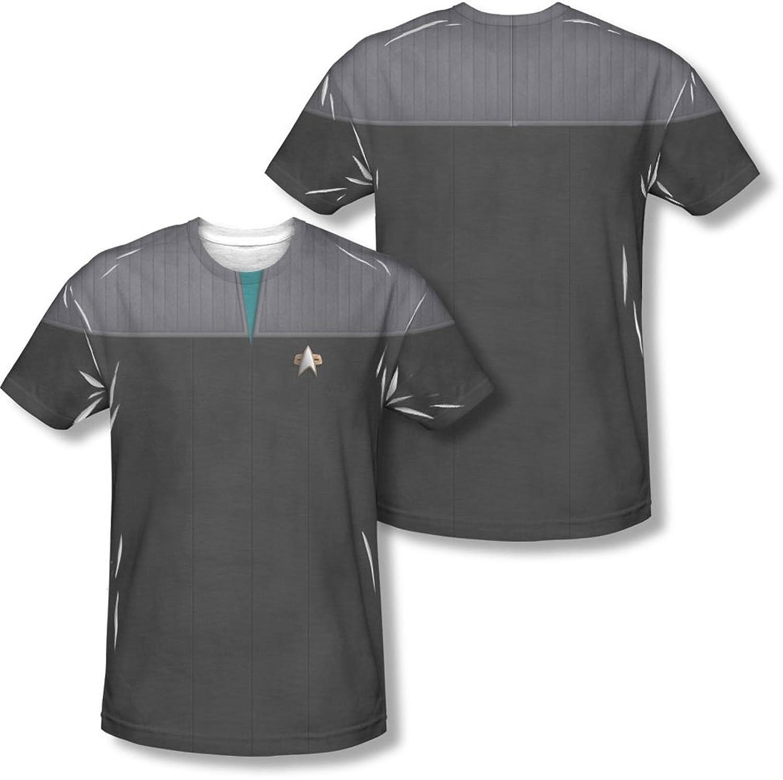 Star Trek - Mens Tng Movie Science Uniform (Front/Back Print) T-Shirt