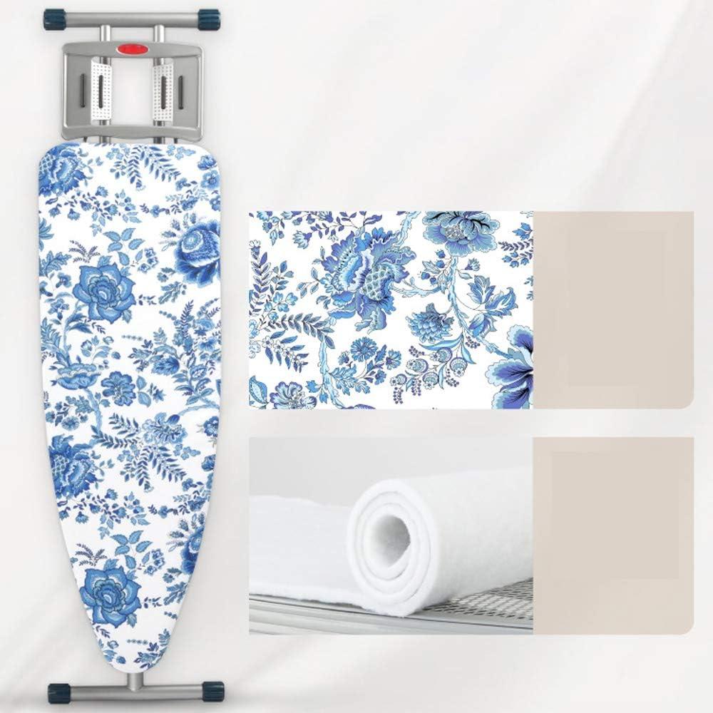 ZSIF Produits menagers Planche à repasser pliante de ménage, Grand groupe rationalisée confortable et lisse repassage rack // (Color : Dark blue) Dark Blue