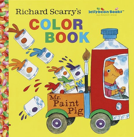 Happy birthday to Richard Scarry | Richard scarry, Coloring pages ... | 475x464